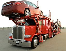 Moore Transport Truck Loaded